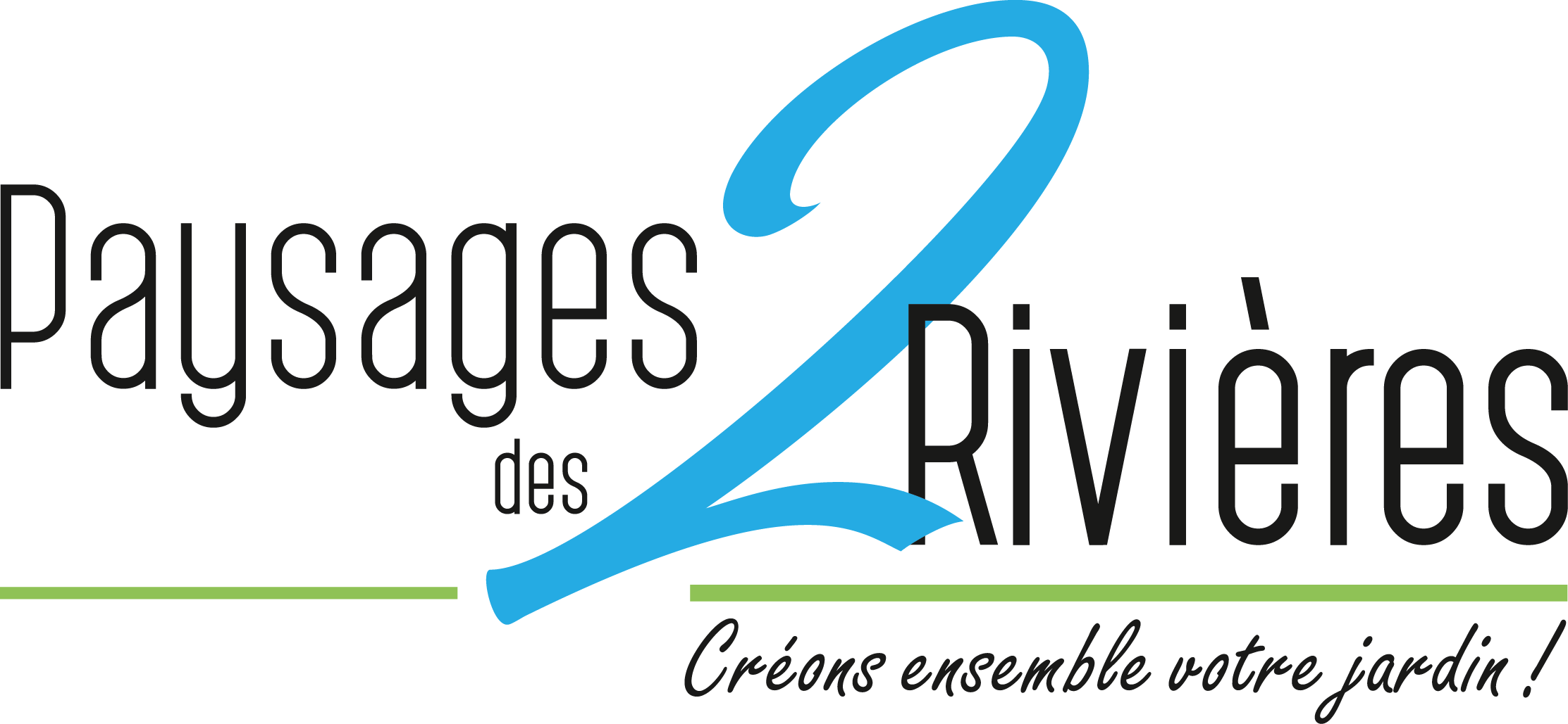 Logotype Paysagiste 2 rivières Nantes