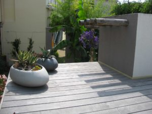 aménagement bois terrasse jardin