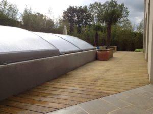 aménagement piscine terrasse maçonnerie