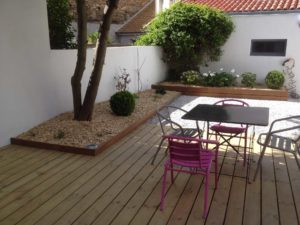 salon jardin bois terrasse