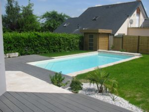 piscine jardin abri terrasse bois