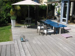 salon jardin bois Nantes