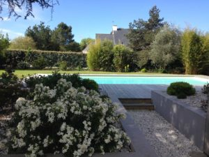 Aménagement jardin terrasse piscine