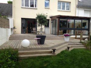 salon jardin terrasse bois