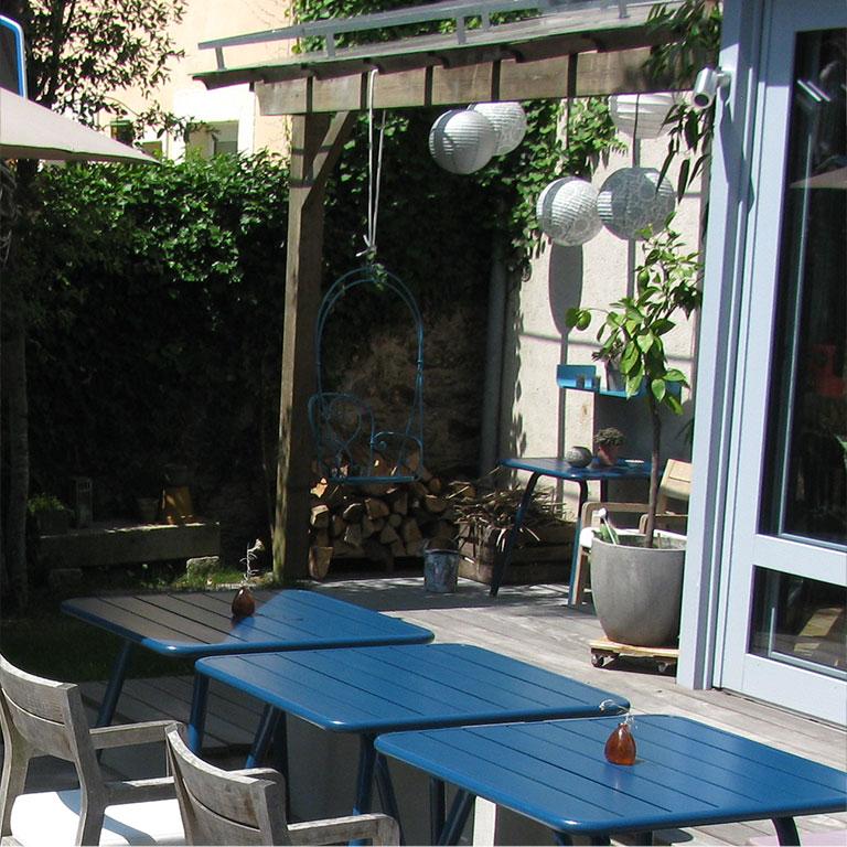 terrasse bois salon jardin Nantes